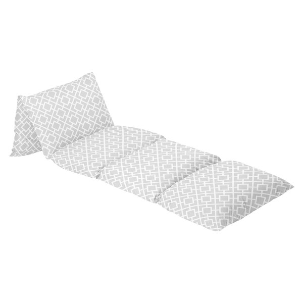 Diamond 100% Cotton Floor Pillow Lounger Cover by Sweet Jojo Designs